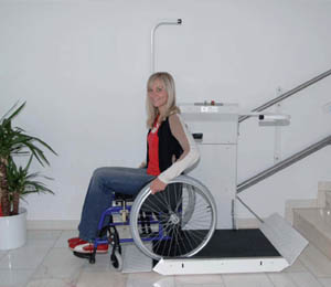 Stair lifts With a Wheelchair Platform